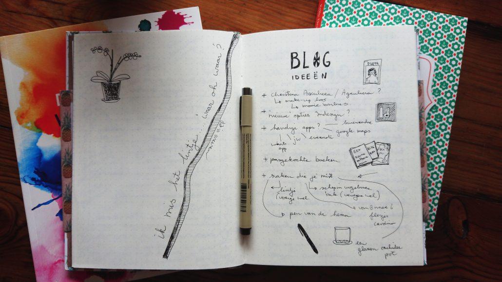 Lisbeth van LIntel bullet journal