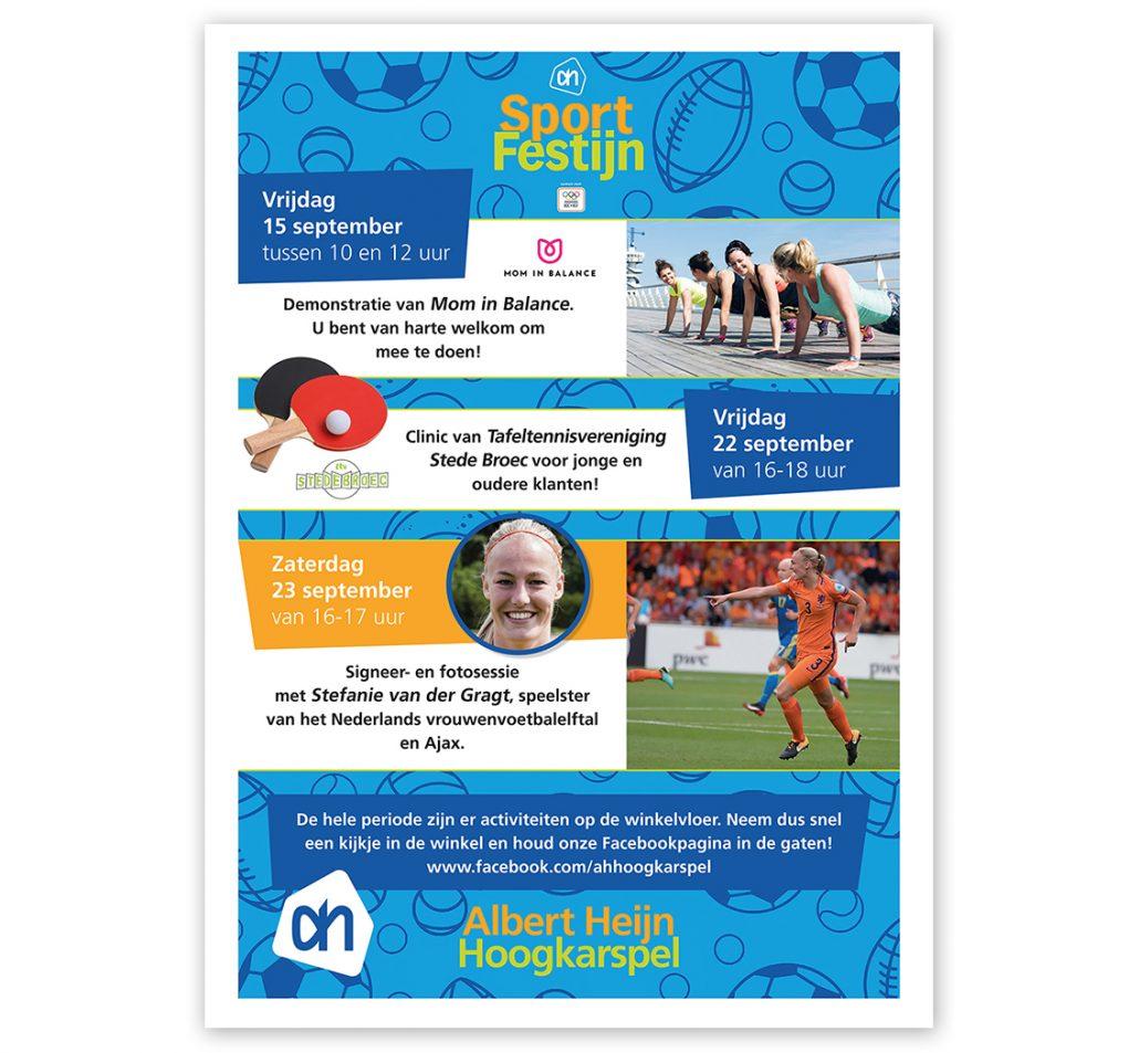 Lisbeth van Lintel_AH sport poster