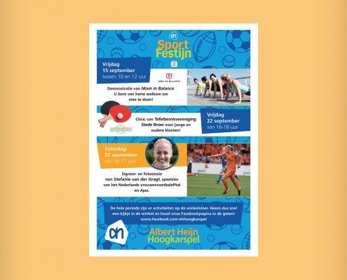 Lisbeth van Lintel AH sport poster2
