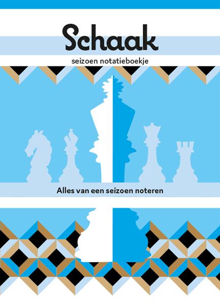 Lisbeth van Lintel Schaaknotatieboekje Seizoen Spinam
