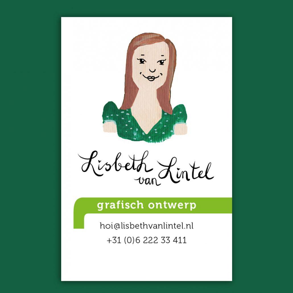 Lisbeth van Lintel visitekaartje