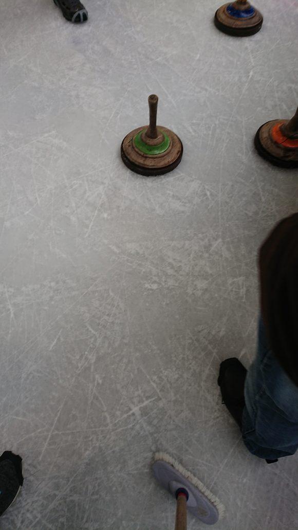 Lisbeth van Lintel curling